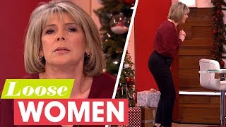Ruth Does an Impression of Eamonn When He Has a Cold   Loose Women