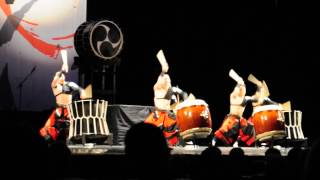 Aska Japanese Drum Troupe St Petersburg 03 05 2014