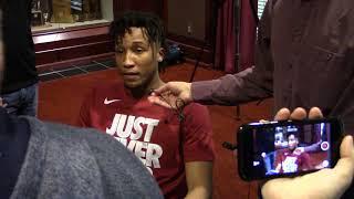 Dazon Ingram reacts to NCAA selection, Virginia Tech as an opponent