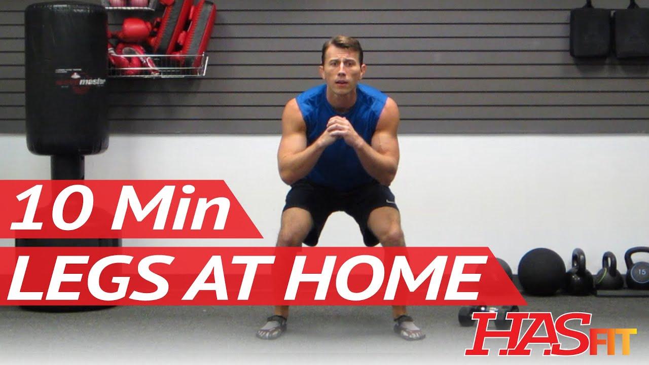 Hasfit minute leg workout exercises best legs