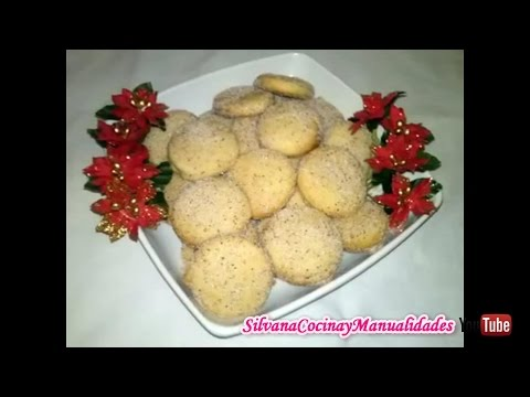 Receta: Polvorones Para Navidad (Mantecados) - Silvana Cocina Y Manualidades