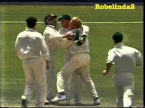 *BALL BY BALL* SHANE WARNE vs ENGLAND 1st TEST 1994 GABBA