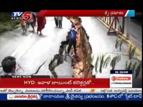 Exclusive Report On Earthquakes In India | Safety & High Risk Places : TV5 News