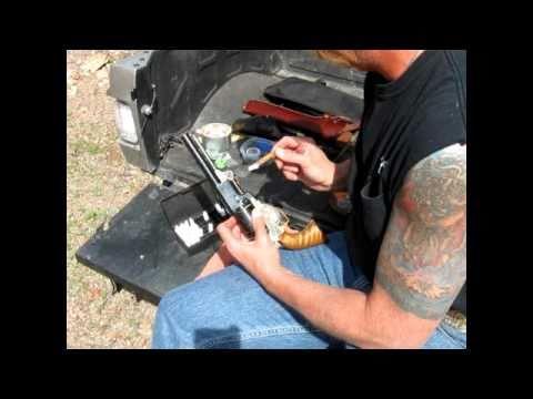 Black Powder Paper Cartridge Loading and Shooting