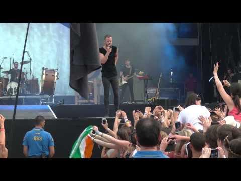 Imagine Dragons - Demons  live   Sziget Festival 2014, Budapest, 13.08.2014 video