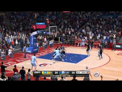 NBA Live 15 - Warriors vs Clippers - Sim