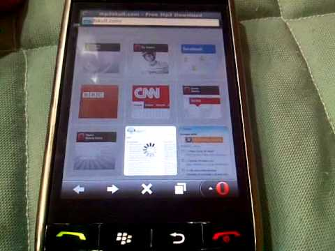 Blackberry Storm Internet Gratis.3gp