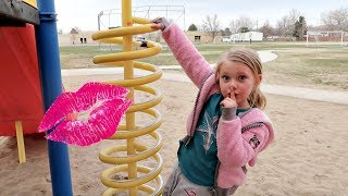 DON'T GET KISSED AT A PARK! | HIDE AND SEEK