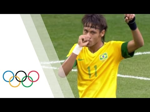 Incredible Goal From Neymar - Brazil v Egypt | London 2012 Olympics