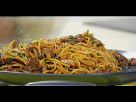 Китайская жареная лапша с говядиной / рецепт от шеф-повара / Илья Лазерсон / Обед безбрачия