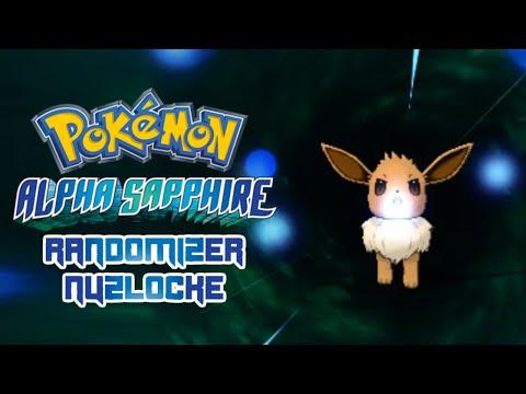 Pokemon Alpha Sapphire Randomizer Nuzlocke 01 - Primal Eevee