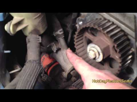 How to replace a water pump & timing belt on a Ford Focus