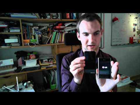 LG Optimus L3 E400 Smartphone Unboxing