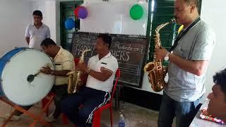 Palki te bou chole Jay alto saxophone dual...