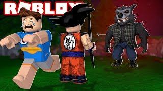 ESCAPE DO LOBISOMEM NO ROBLOX! (Escape Werewolf)