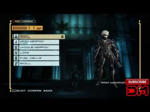 Metal Gear Rising Revengeance - Infinite BP Exploit