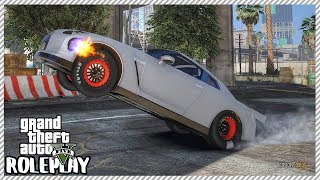 GTA 5 Roleplay - Monster 2100HP Drag Nissan GTR R35 | RedlineRP #202