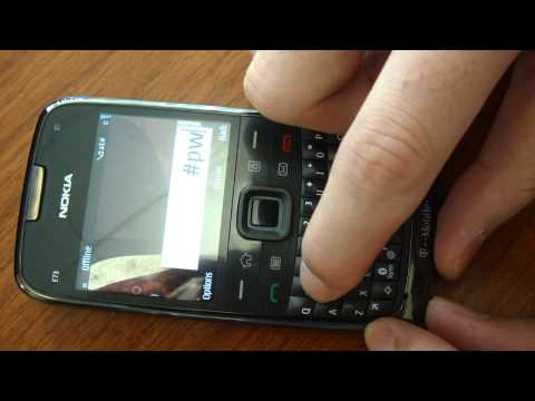 How to unlock Nokia E73