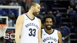Grizzlies listening to trade offers for Marc Gasol and Mike Conley | SportsCenter