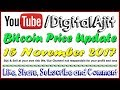 Video Bitcoin price analysis 15 November 2017 [ Gravity is always works ]