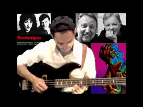 New Order Round&Round Peter Hook Bass Line Tribute