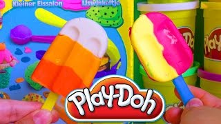 Play Doh Popsicles Ice Cream Play Doh Scoops
