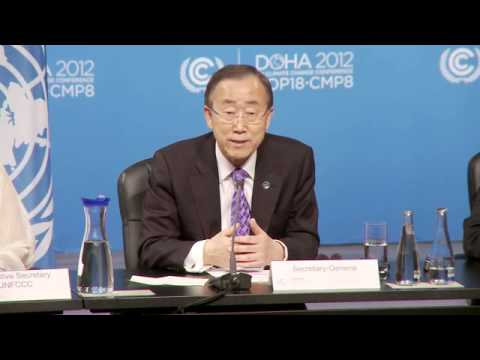 COP18: Ban Ki-moon, UN Secretary General