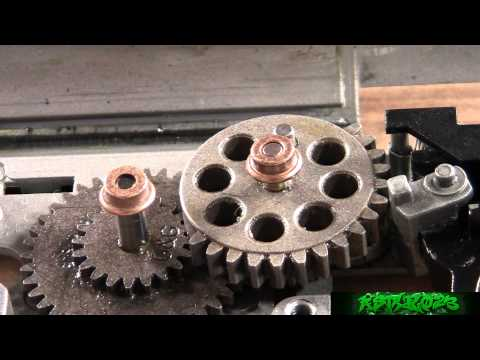 How to Shim an AEG Gearbox  -ASTKilo23-