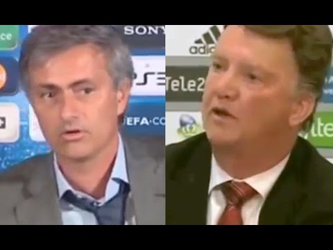 Jose Mourinho Tells Louis van Gaal: 'I Want The Man United Job'*