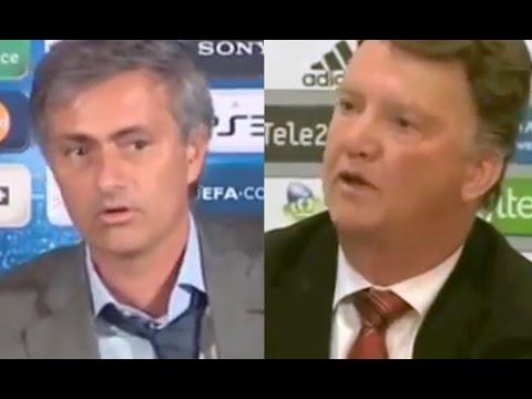 Jose Mourinho Tells Louis van Gaal: 'I Want The Man United Job'*