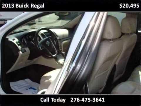 2013 Buick Regal Used Cars Damascus VA
