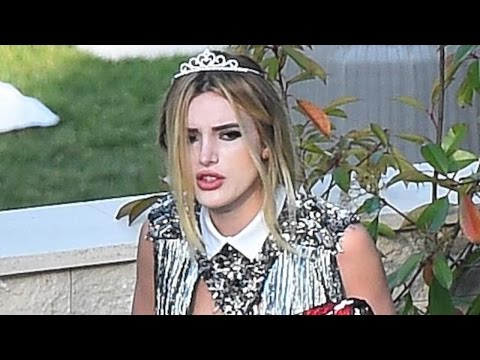 Bella Thorne Rocks a Glitzy Tiara in Cannes as She Steps Out Without Rumored New Man Scott Disick