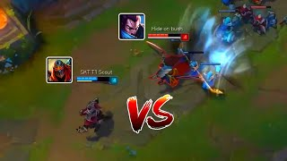 Skill Matchup Montage #2 Zed vs Yasuo (League of Legends)