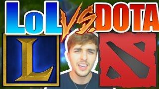 LOL vs DOTA 2 ! ¿Cuál es mejor?