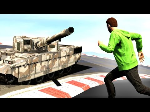 EXTREMELY DANGEROUS DEATHRUN! (GTA 5 Funny Moments)