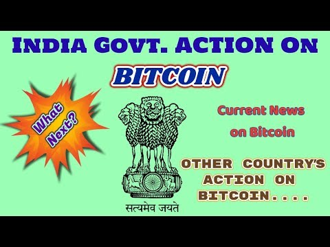 Indian Govt  ACTION on Bitcoin 2018 ! HINDI