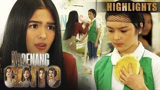 Marga, itinapon ang pancake kay Cassie   Kadenang Ginto (With Eng Subs)