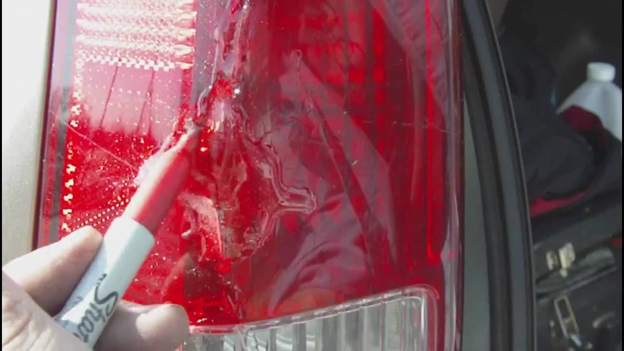 Tail Light How To Repair On The Road Youtube