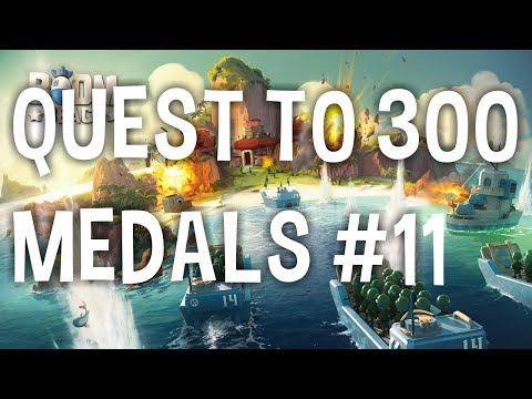Quest to 300 Medals #11 - I Found JORGE YAO?! - Let's Play Boom Beach