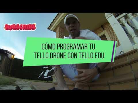 Como programar tu Tello drone con #telloedu en Español