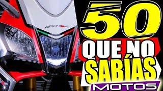50 COSAS: de LAS MOTOS que NECESITAS SABER!! (Conocimientos MECÁNICOS. RANDOM  E HISTÓRICOS)