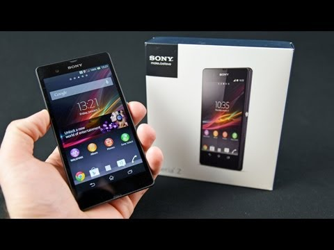 Sony Xperia Z: Unboxing & Tour