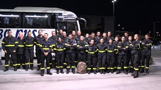 French soldiers arrive in Sweden to fight wildfires