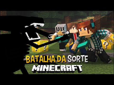 Minecraft: Aliens Desafio Do Lucky Block - Batalha Da Sorte video