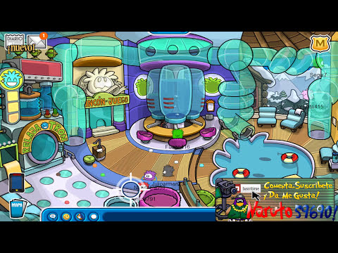 Club Penguin:Como Transformarse En Puffle Marzo 2013 HD 1080p