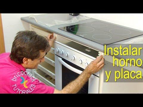 Instalar una placa de cocina y un horno (Bricolaje y Electricidad BricocrackTV)
