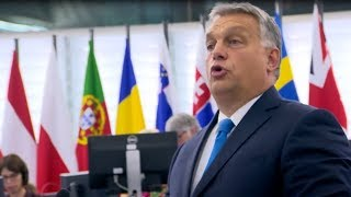"""Hungary will not be a country of migrants"" - Viktor Orban's scathing address to European Parliament"
