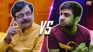 Papa vs Avengers   Ft. Atul Shrivastava and Akash Deep Arora   Being Indian
