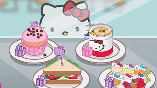 Kids Learn Cooking With Kitty - Hello Kitty Lunchbox | Children Play Fun Kitchen Kids Game