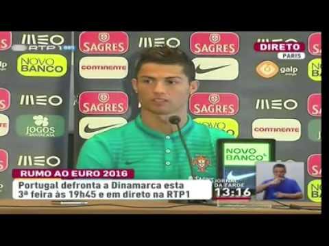 Cristiano Ronaldo: ''CMTV? O que é isso?''